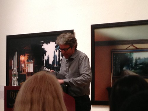Jonathan Franzen, at Rutgers-Newark