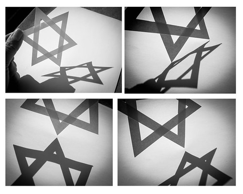Star of David Collage