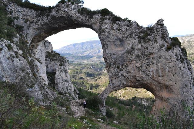 006 - Els Arcs, Castell de Castells, Alicante PR CV 151