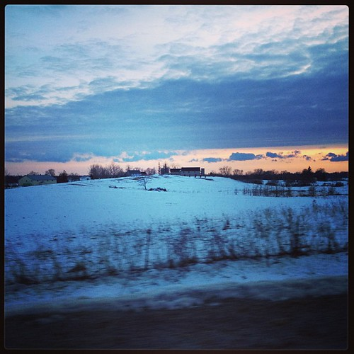 winter sunset square squareformat mayfair princeedwardcounty iphoneography instagramapp uploaded:by=instagram foursquare:venue=4bd817bedc4b9521d1507888