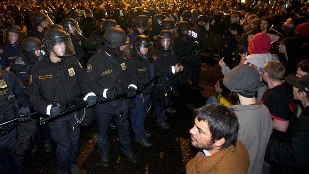 occupy portland Steve Dipaola Reuters