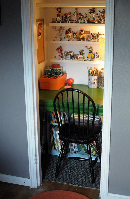 Completing a Closet to Office Makeover  DIY Del Ray