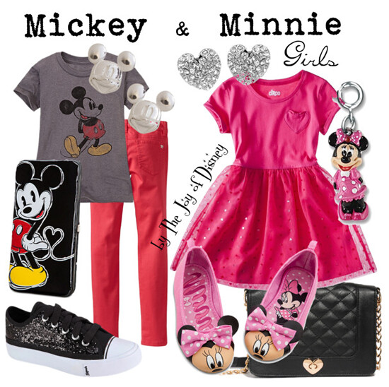 Mickey & Minnie Mouse (Girls)
