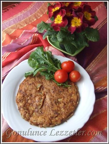 karnabarlı omlet