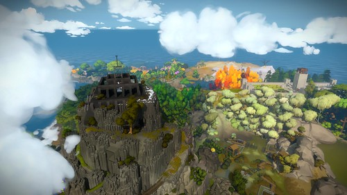 The Witness: Aereal View