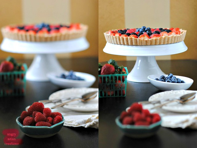 Vegan Fruit Tart