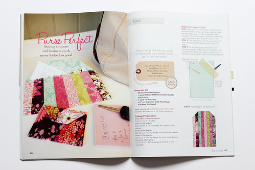 Sew-it... Today - Purse Perfect by Jeni Baker