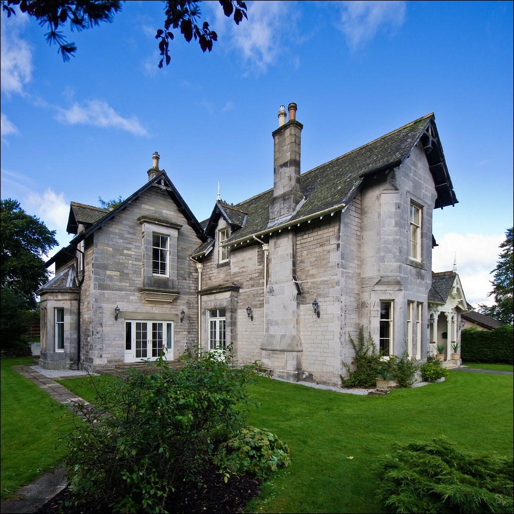 Villa Scotland Manor House 9687 :: Europe Scotland Ardogwan  Scotland Manors