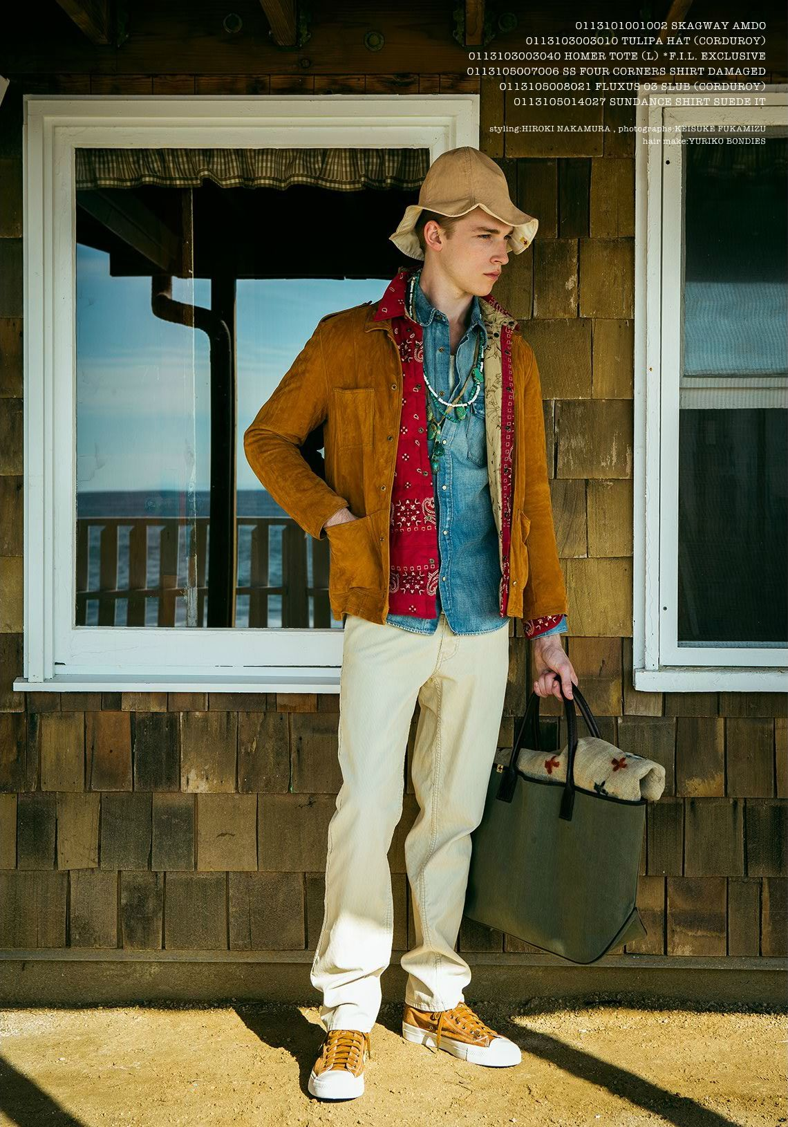 visvim SS13 Look Book001_David Hlinka