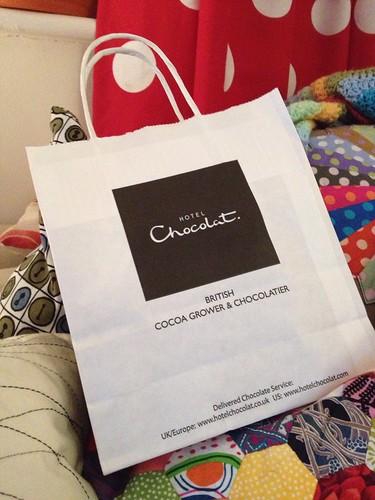 Hotel Chocolat bag