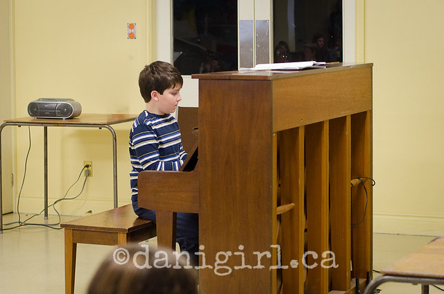 Simon's recital