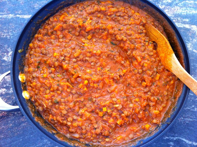 Lentil Marinara Sauce