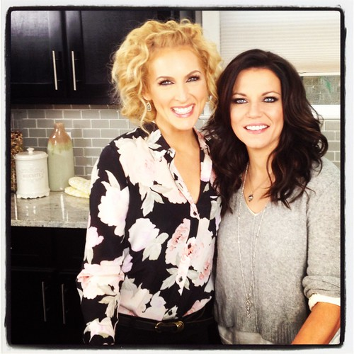 Kimberly and Martina McBride