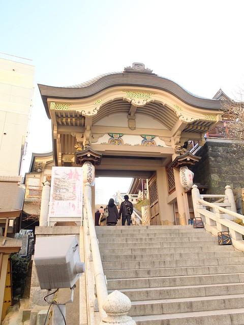 Yushima tenjin entrance