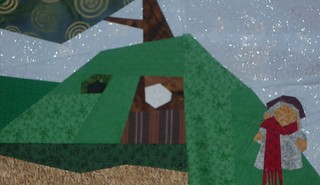 Womble house_wimbledon common_orinoco_Bag end pattern
