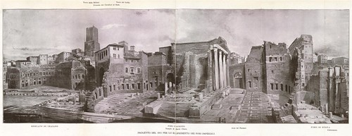 Roma archeologia il progetto la casa dei cavalieri di - Progetto casa roma ...