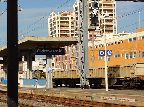 Civitavecchia train station