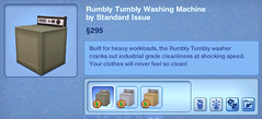 Rumbly Tumbly Washing Machine by Standard Issue