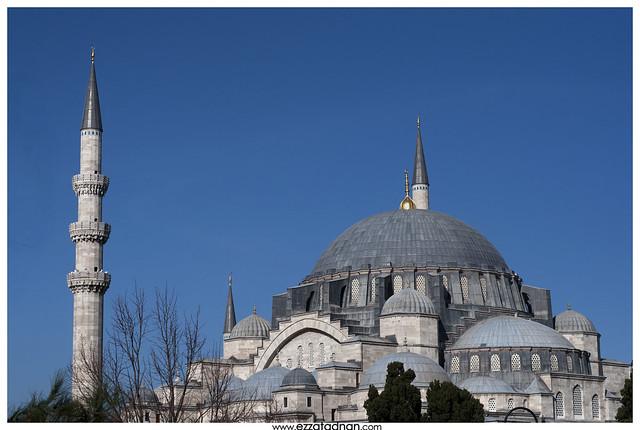 Süleymaniye Mosque, 1890 in the era of Sultan Süleyman ...