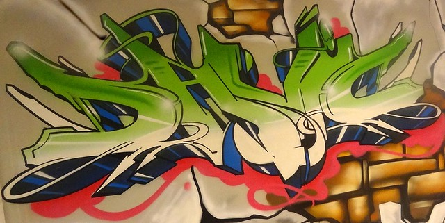 Letras graffiti david flickr photo sharing - Graffitis en dormitorios ...