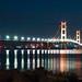 Mackinac Bridge, MI by mtfreestyler