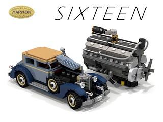 Marmon S I X T E E N - Victoria Club Coupe - 1931 + 491 CID V16