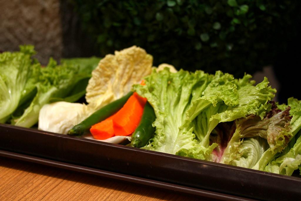 Bornga: fresh raw vegetables