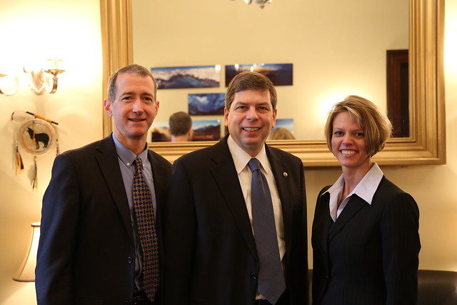 Senator Begich meeting with the Alaska Oil and Gas Association