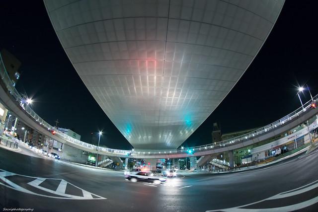 円形歩道橋 #01