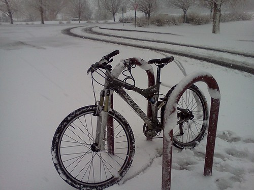 Colorado achievement unlocked: ride mountain bike to crossfit in a snowstorm