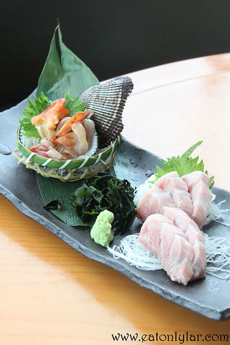 Live Ark Shell and Ootoro, Kura Japanese Restaurant
