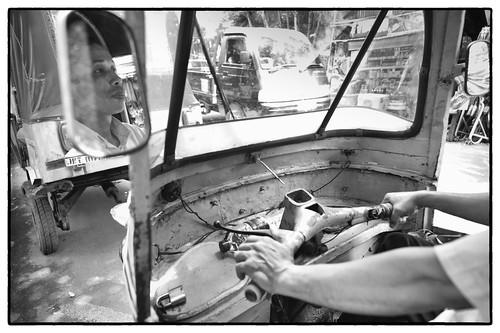 Bajaj driver by ekindangen