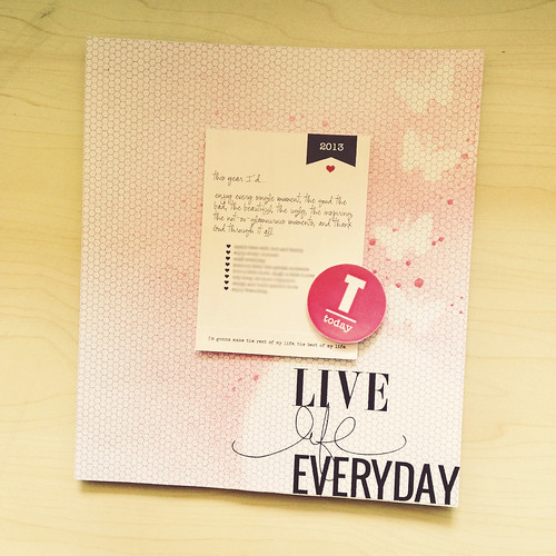 Scrapbook 2013 | Live Life Everyday