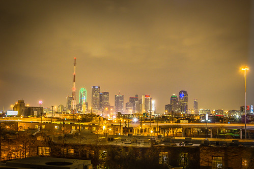 HDR Dallas Skyline!