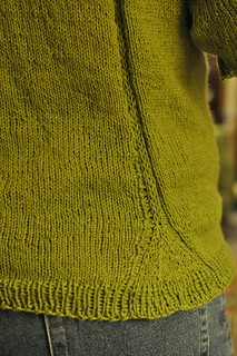 gingko sweater back