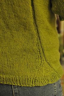 gingko sweater back