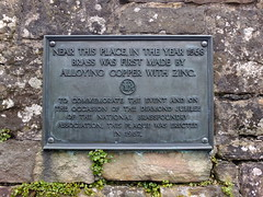 Photo of Bronze plaque number 9409