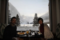 Breakfast @ Chateau Lake Louise