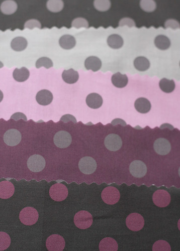 lots of dots fabric collection