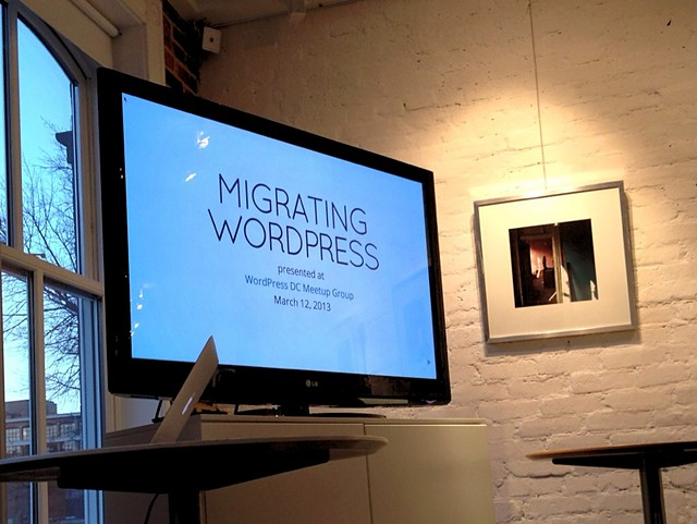 migrating WordPress