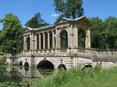 Stowe Landscape Gardens: Palladian Bridge (Buckinghamshire)
