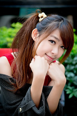 [Free Images] People, Women - Asian, Taiwanese People ID:201303261800