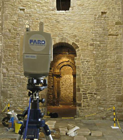 Laser scanning - St Peters