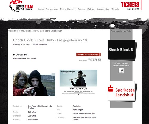 Prodigal Son - Nominated for Deadline Award in Munich