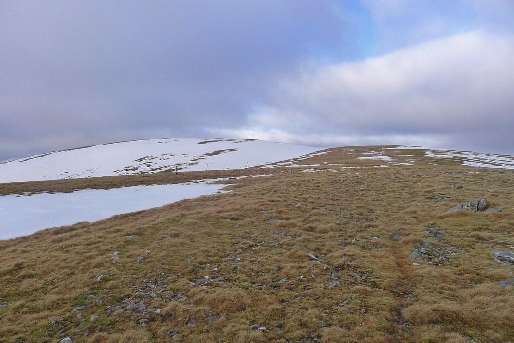 Climbing Meall Buidhe