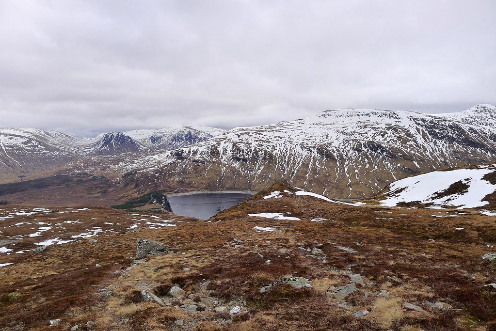 Descent from Meall Buidhe