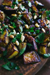 vegetable, eggplant, vegetarian food, leaf vegetable, food, dish, cuisine,