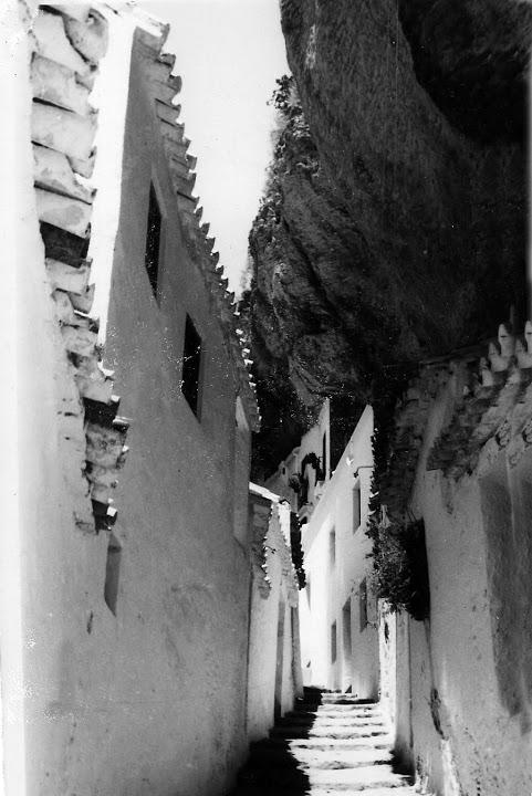Calle Herrería. Finales de los años '60. Foto de Antonio Sánchez El Retratista cedida por Rafael Vargas Villalón.