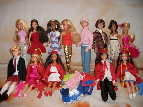 Flickr: The High School Musical Dolls Pool