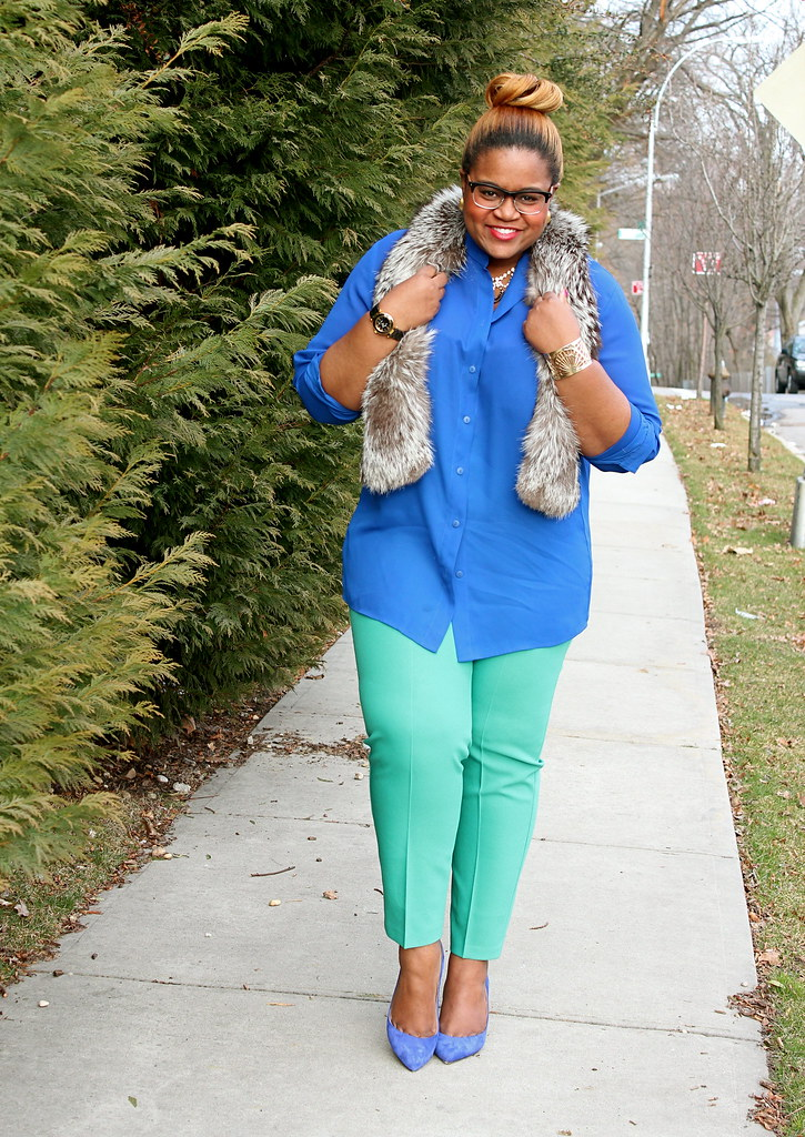 blue and mint fashion